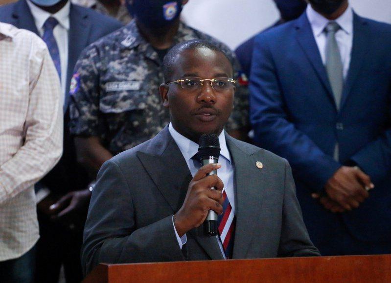 海地臨時總理喬塞德(Claude Joseph)。(路透)