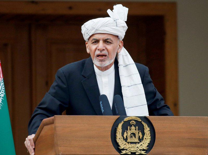 阿富汗總統甘尼。 (路透資料照片)
