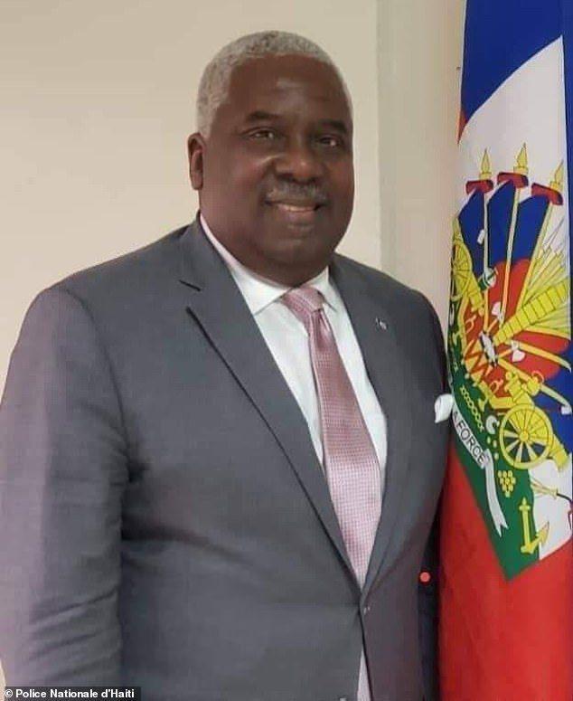 疑為刺殺海地總統摩依士事件主謀的佛州海地裔無照醫生薩農,已被海地警方逮捕。(取自海地警方網站)