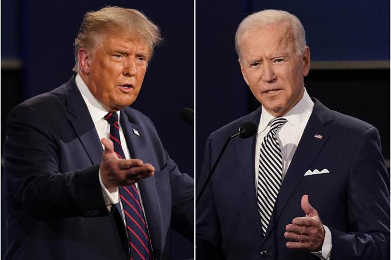 華盛頓郵報(WP)與美國廣播公司新聞網(Post-ABC)民調顯示,川普總統仍持續落後前副總統拜登多達兩位數,受到新冠病毒疫情相關議題影響,導致他失信於民。美聯社