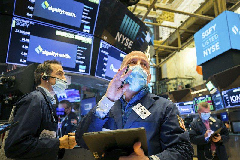 美国股市12日小幅收高,再创另一轮收盘纪录。(美联社)(photo:UDN)